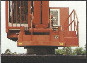 Hood 32000 Loader cab front view
